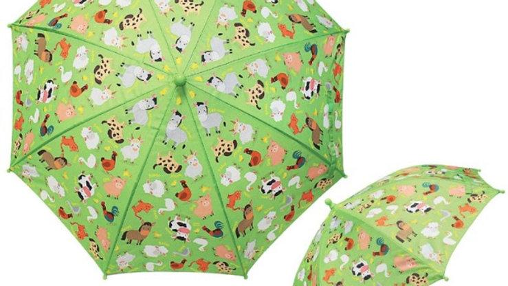 Little Stars Farmyard Umbrella
