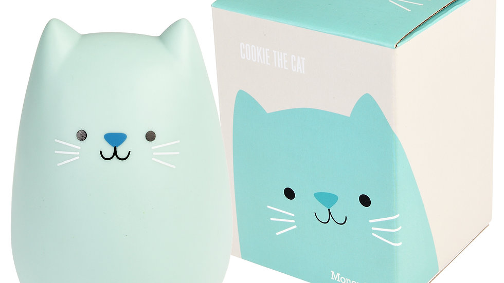 Cookie The Cat Money Box