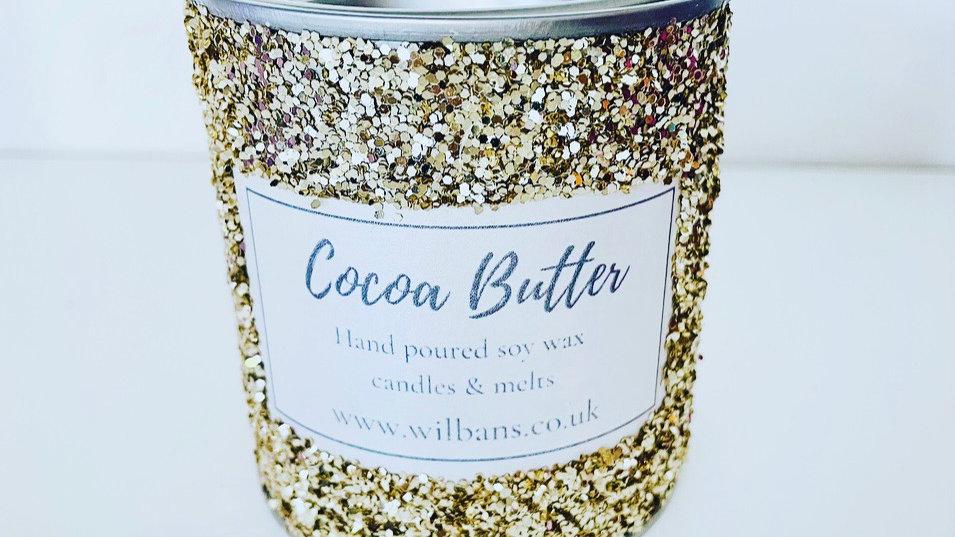 Cocoa Butter Glitz Candle