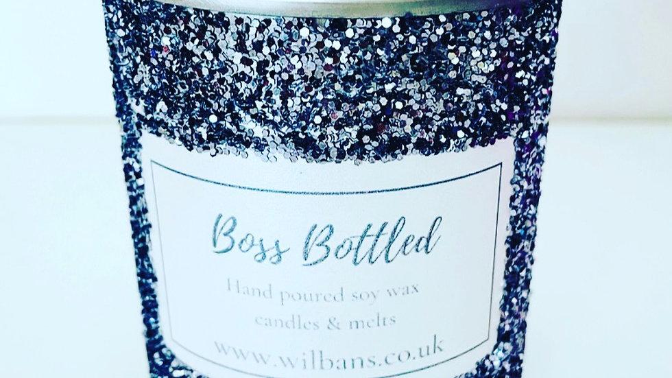 Boss Bottled Glitz Candle