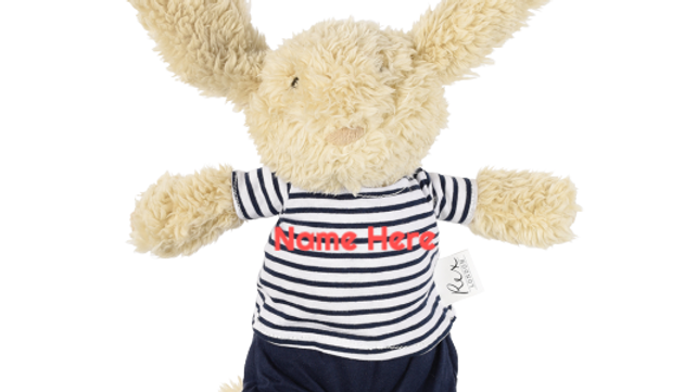 Personalised Ollie The Bunny Soft Toy