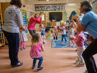 New report finds active play helps two to four-year-olds prepare for school