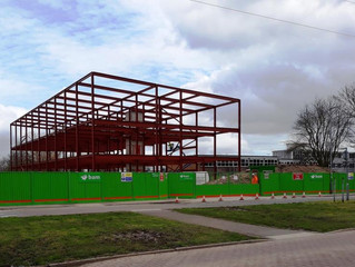 New build at BCA taking shape