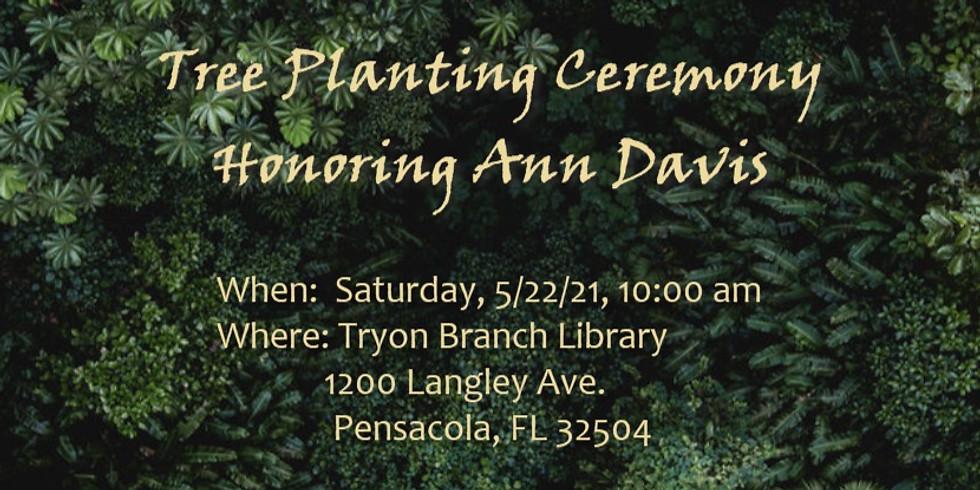 Tree Planting Honoring Ann Davis