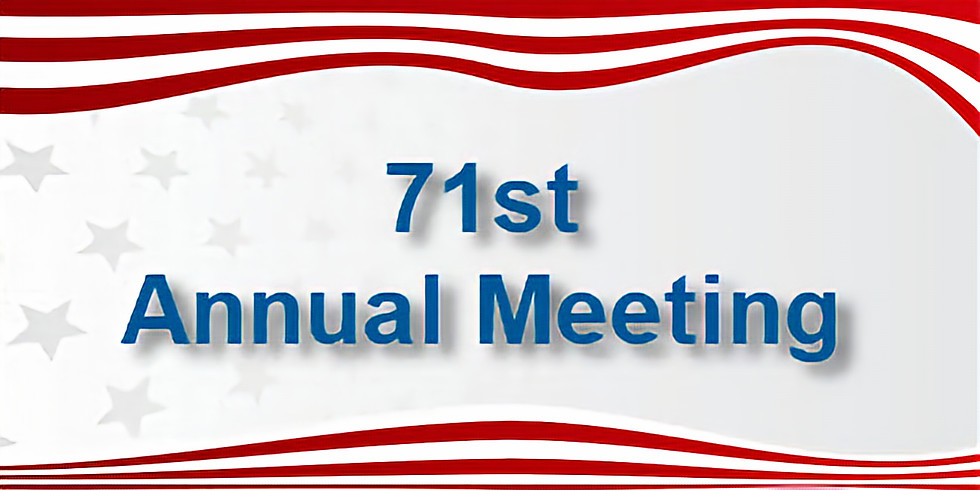Celebrate LWVPBA at the 71st Annual Meeting