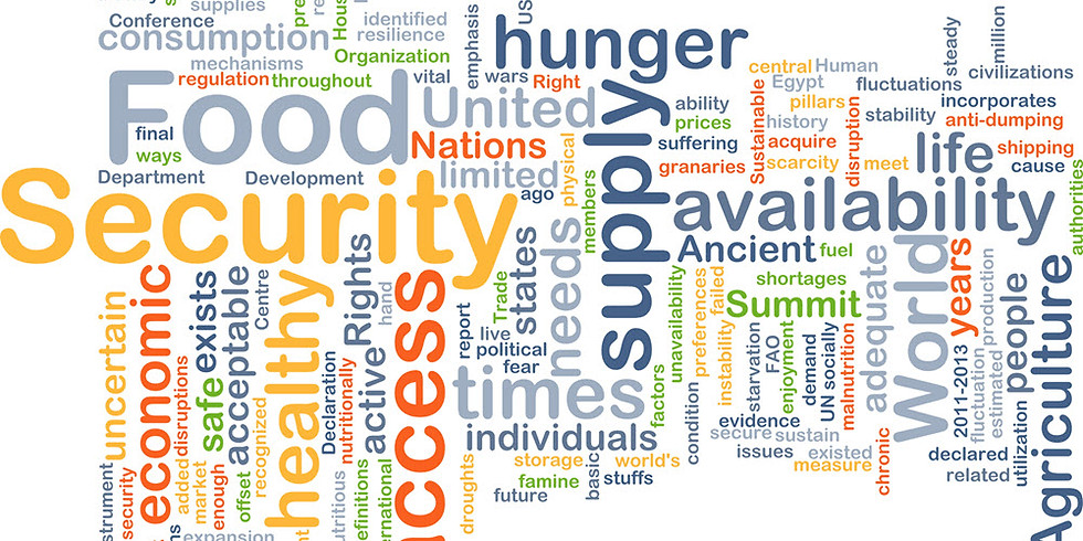 LWV April Meeting: Food Insecurity and Poverty