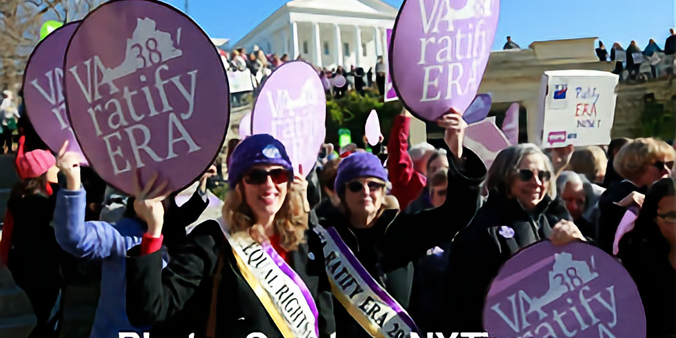 For Debate: Should the Equal Rights Amendment Be Revived?