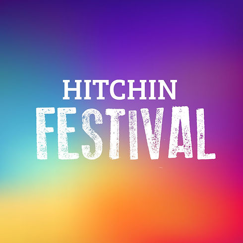 Hitchin Festival square white with colou