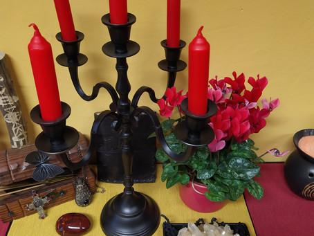 Kouzelná svíčka na SVATÉHO VALENTÝNA