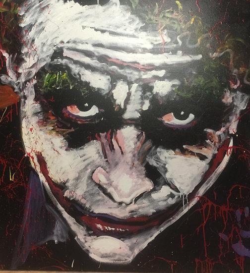 "48""x48"" Giclée Print Joker"