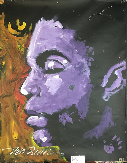 """Prince 48""""x60"""" On Paper"""