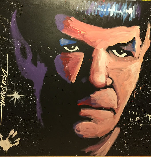 """Spock60""""x60"""" On Stretched Canvas"""