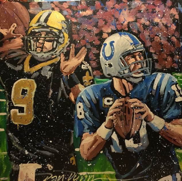 Drew Brees and Peyton Manning