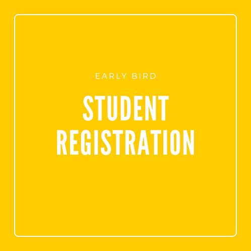 Early Bird Student Registration