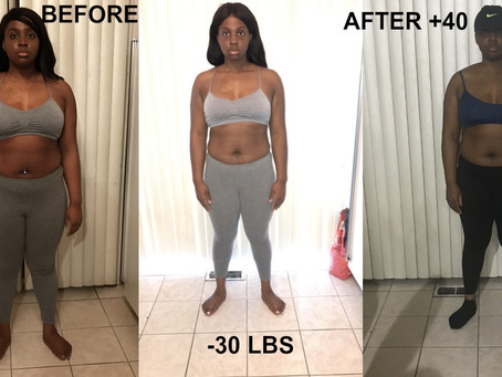 HOW A PLANT BASED EATER LOST 30LBS BUT GAINED 40LBS