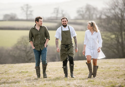 British Chef Dan Brown in Somerset Countryside