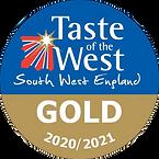 Taste of the West Gold Award Winner 2020/2021