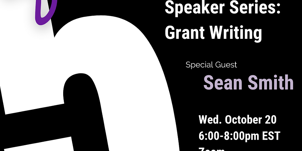 After 5: Grant Writing w/ Sean Smith