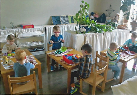 A typical day of Montessori learning.