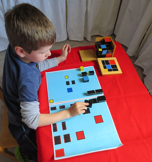 Activity designed to develop spatial awareness