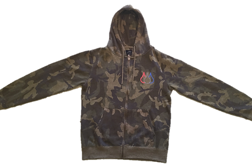 ISF Hooded Jumper (Camo)