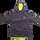 Thumbnail: ISF Active Hoodie (Mens Fluro Yellow)