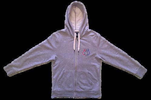 ISF Hooded Jumper (Light Grey)