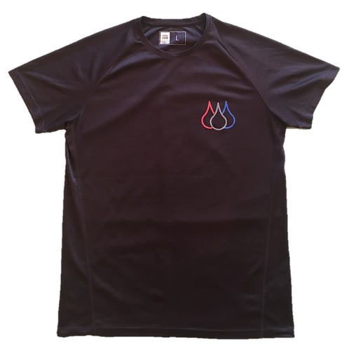 ISF Active T-Shirt (Charcoal)