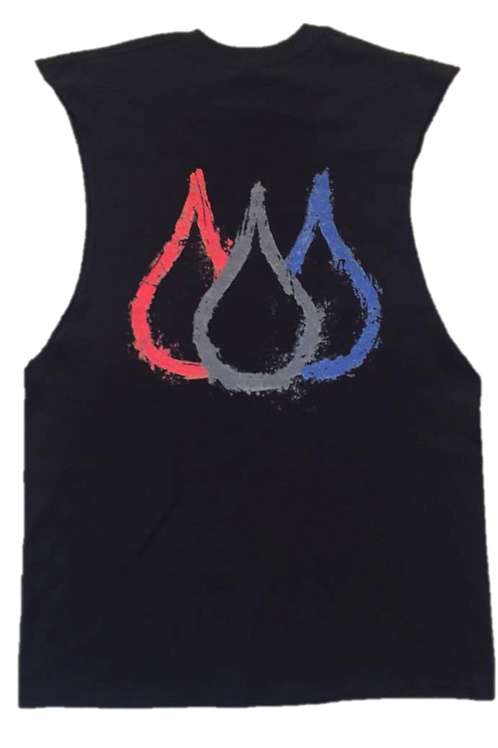 ISF Muscle Singlet (Black: Outline)