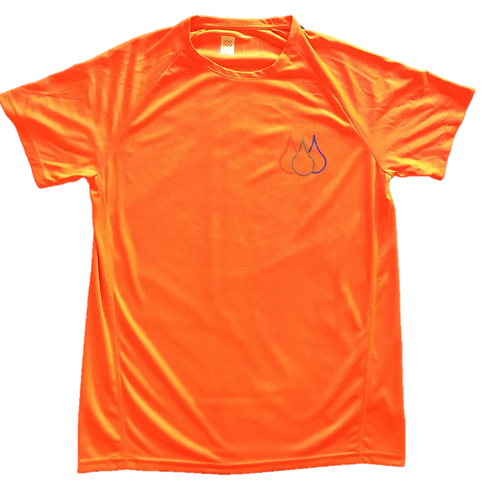 ISF Active T-Shirt (Tangerine)