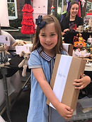 Highgate Fate 2017 Little Girl happy wth her new Loved Before
