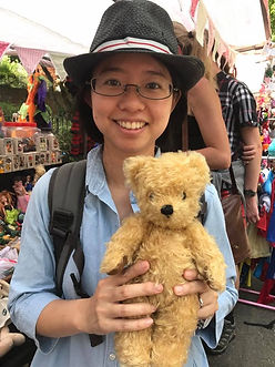 Highgate Fate 2017 Happy Customer with new Loved Before Teddy Bear