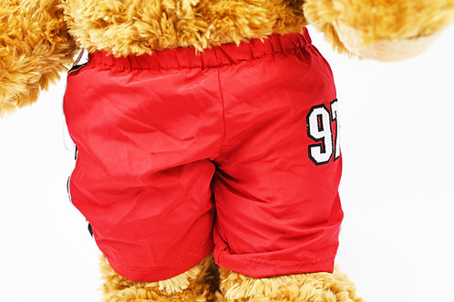 Comfy red tracksuit bottoms