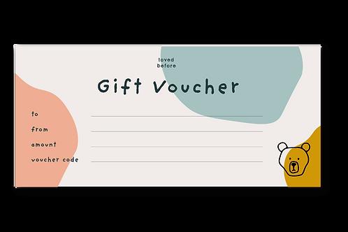 Gift Voucher - £10 - £100