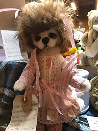 Antique Collectable Teddy Bear - Loved Before