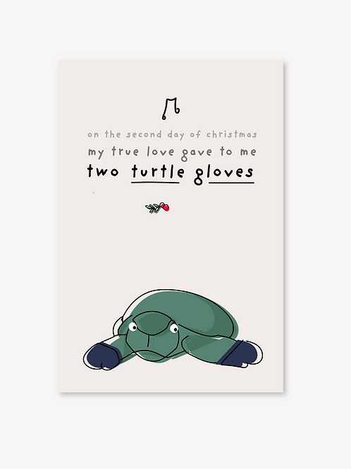 Two turtle gloves
