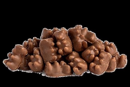 Milk Chocolate Gummy Bears (Half Pound Bag)
