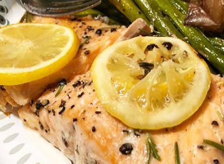 Nancy's Rosemary Salmon Recipe!