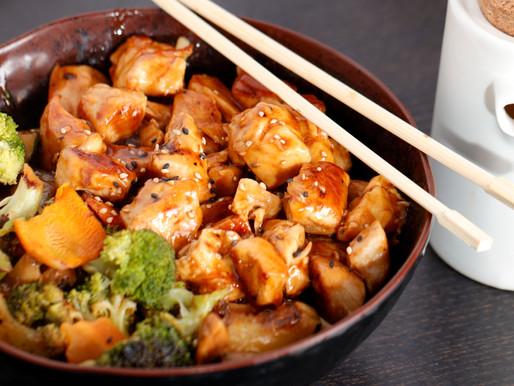 Hibachi Chicken & Vegetables Recipe!