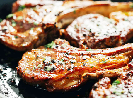 Baked Garlic Butter Porkchops Recipe!