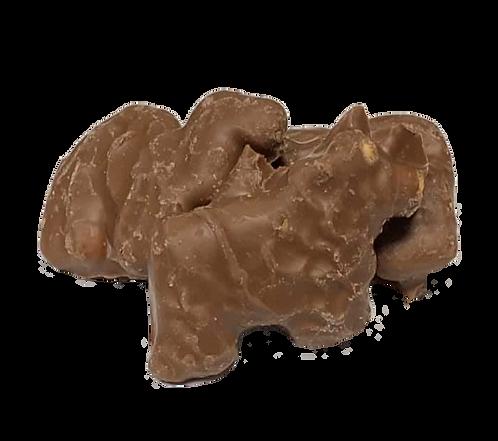 Chocolate Animal Crackers (Half Pound Bag)