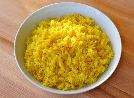 Fragrant Saffron Rice Recipe!