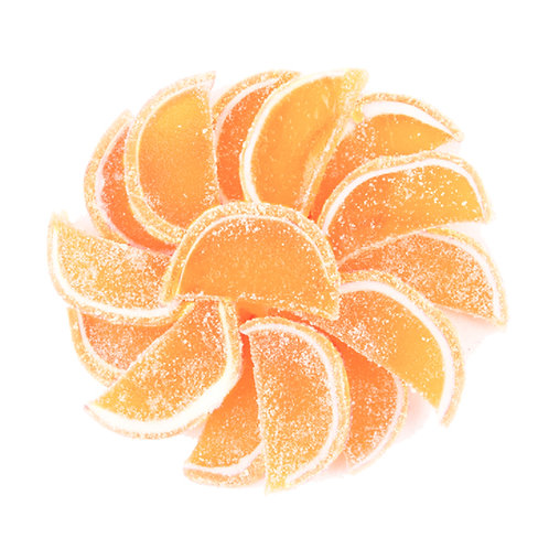 Orange Gummy Slices (Half Pound Bag)