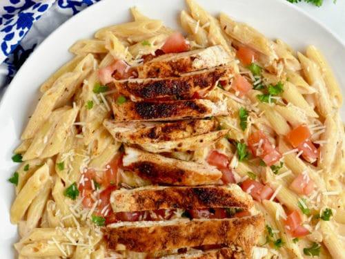 Cajun Chicken Pasta Recipe!