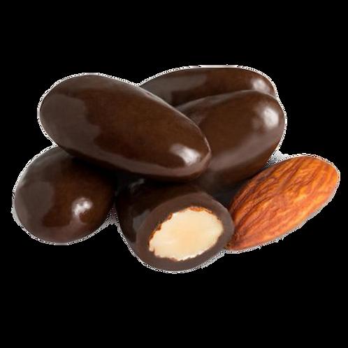 Dark Chocolate Almonds (Half Pound Bag)