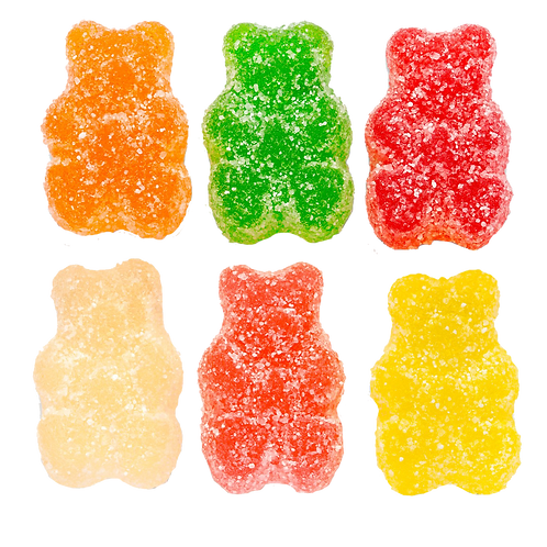 Sour Gummy Bears (Half Pound Bag)
