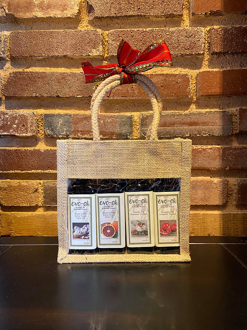 Infused Olive Oil & Vinegar Gift Set