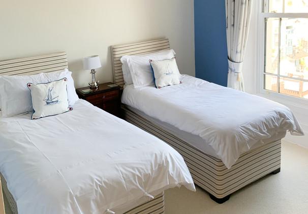 Nautical Themed Twin Bedroom