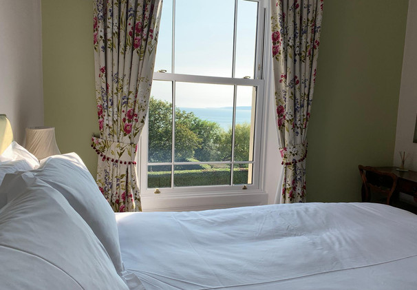Wake up in this King Size Bed with Stunning Sea View