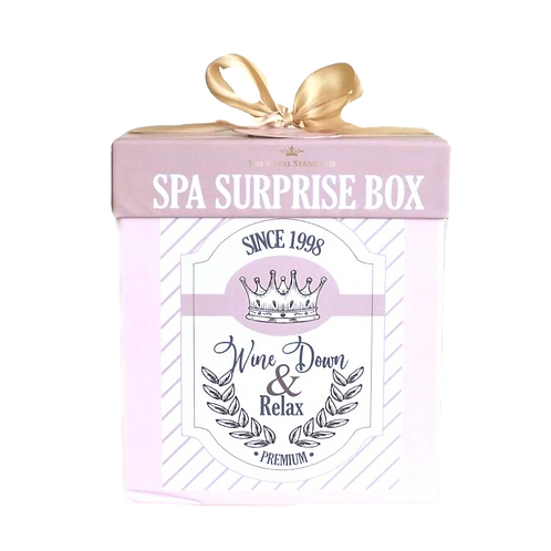 Spa Wine Down Surprise Box